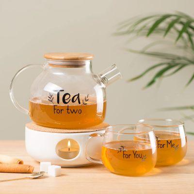 Geschenk für Paare - Tea For Two Tee-Set