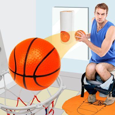 Geschenk für Freund - Basketball-Set für die Toilette