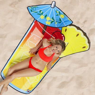 Draußen - Sommercocktail Strandtuch