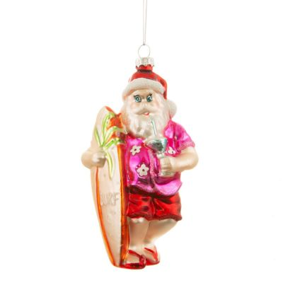 Weihnachtsdeko - Tropischer Santa Christbaumschmuck