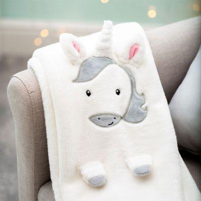 Geschenke zur Geburt - Einhorn Baby Decke