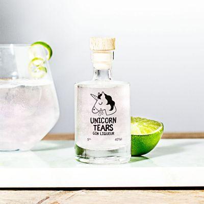Alkohol - Mini Einhorn-Tränen Likör mit Gin