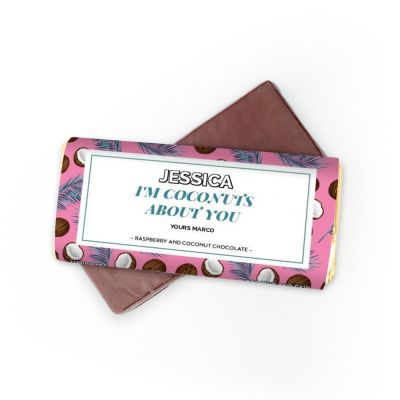 Süßigkeiten - Schokolade mit 4 Zeilen
