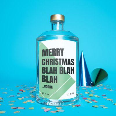 Alkohol - Personalisierbarer Wodka mit Text