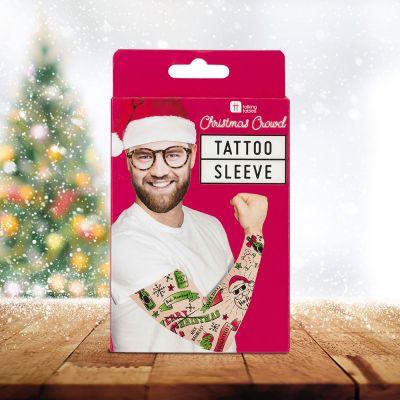 Weihnachtsgeschenke für Freund - Ärmel mit Weihnachts-Tattoos