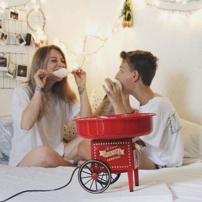 Weihnachtsgeschenke für Kinder - Zuckerwatte-Maschine