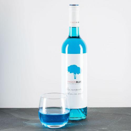 Geschenkideen - Chardonnay in Blau