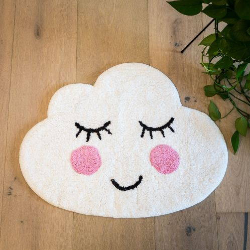 Geschenkideen - Wolken Badezimmerteppich
