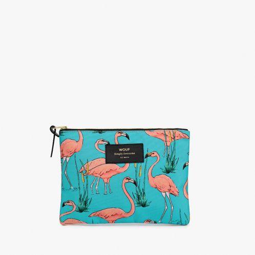 Weihnachtsgeschenke - Eleganter Flamingo Beutel