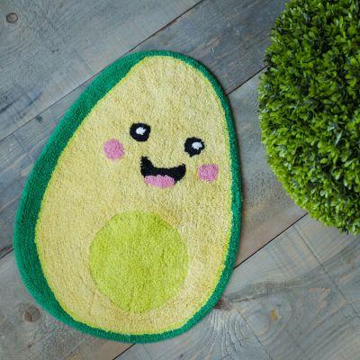 Happy Avocado Badezimmerteppich
