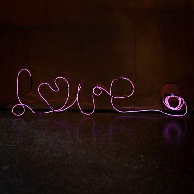 Neonlicht zum Selberformen - Pink