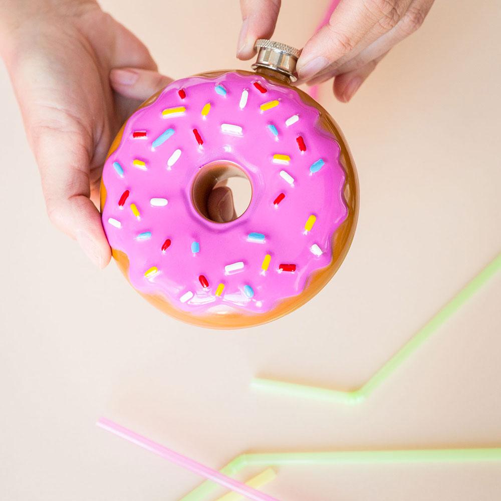 Donut Flachmann