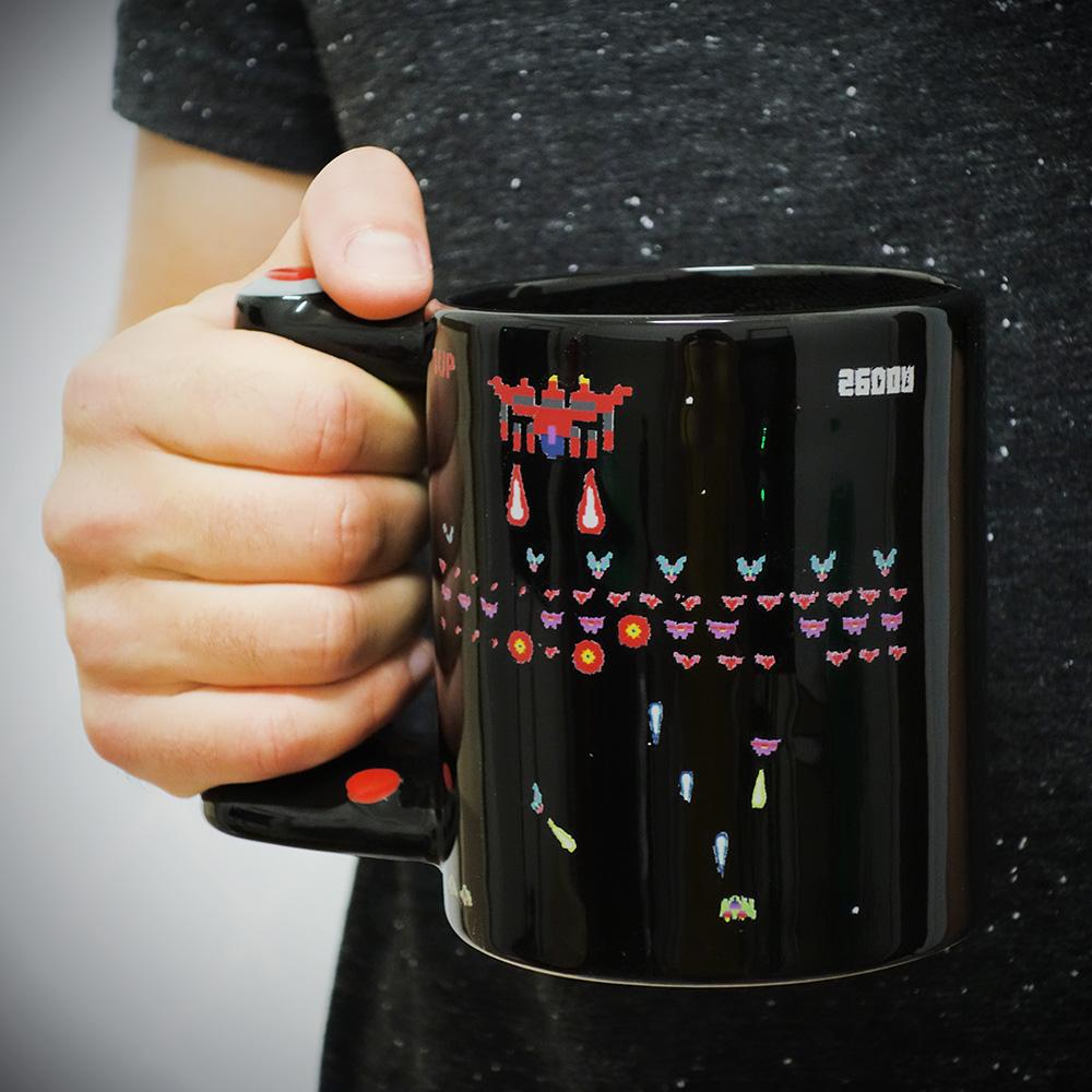 Wärmeempfindliche Arcade Tasse
